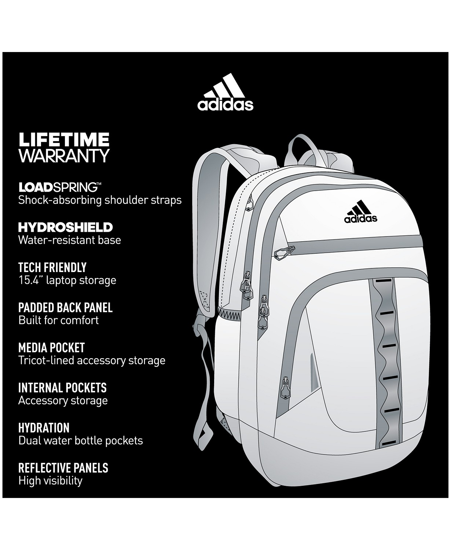 adidas Prime IV Backpack - DESIGNER WORLD STORE 7802f2bce55b4